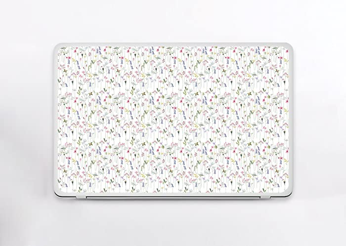 Amazon Com Universal Laptop Skin Tiny Flowers Floral Design Laptop