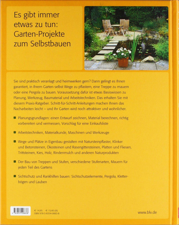 Bauen mit Stein und Holz: Gartenwege, Sitzplätze & Co: Amazon ...
