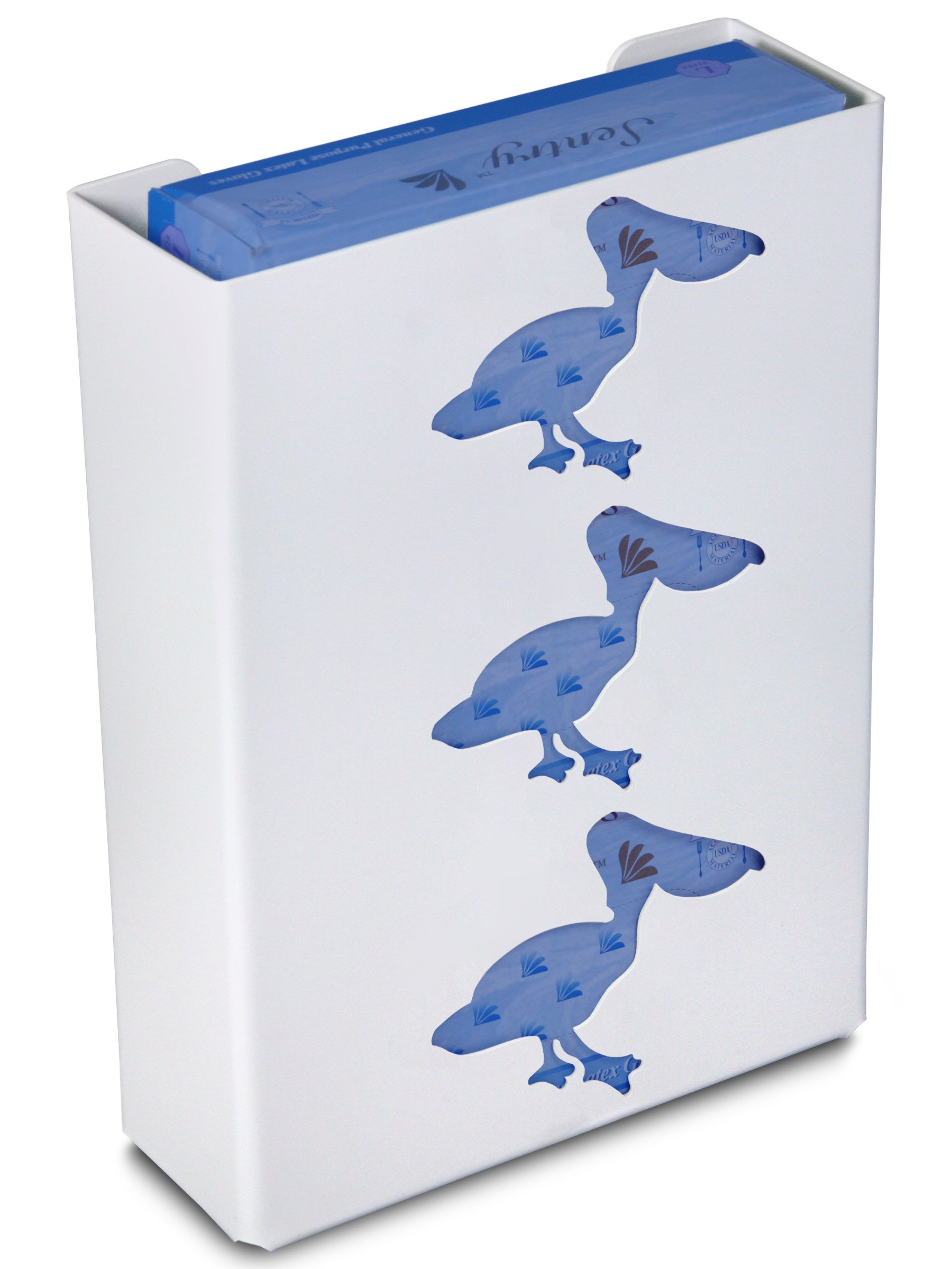 TrippNT 50865 Priced Right Triple Glove Box Holder with Pelican, 11'' Width x 15'' Height x 4'' Depth