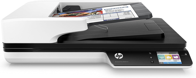HP ScanJet Pro 4500 fn1 Network OCR Scanner (Renewed)