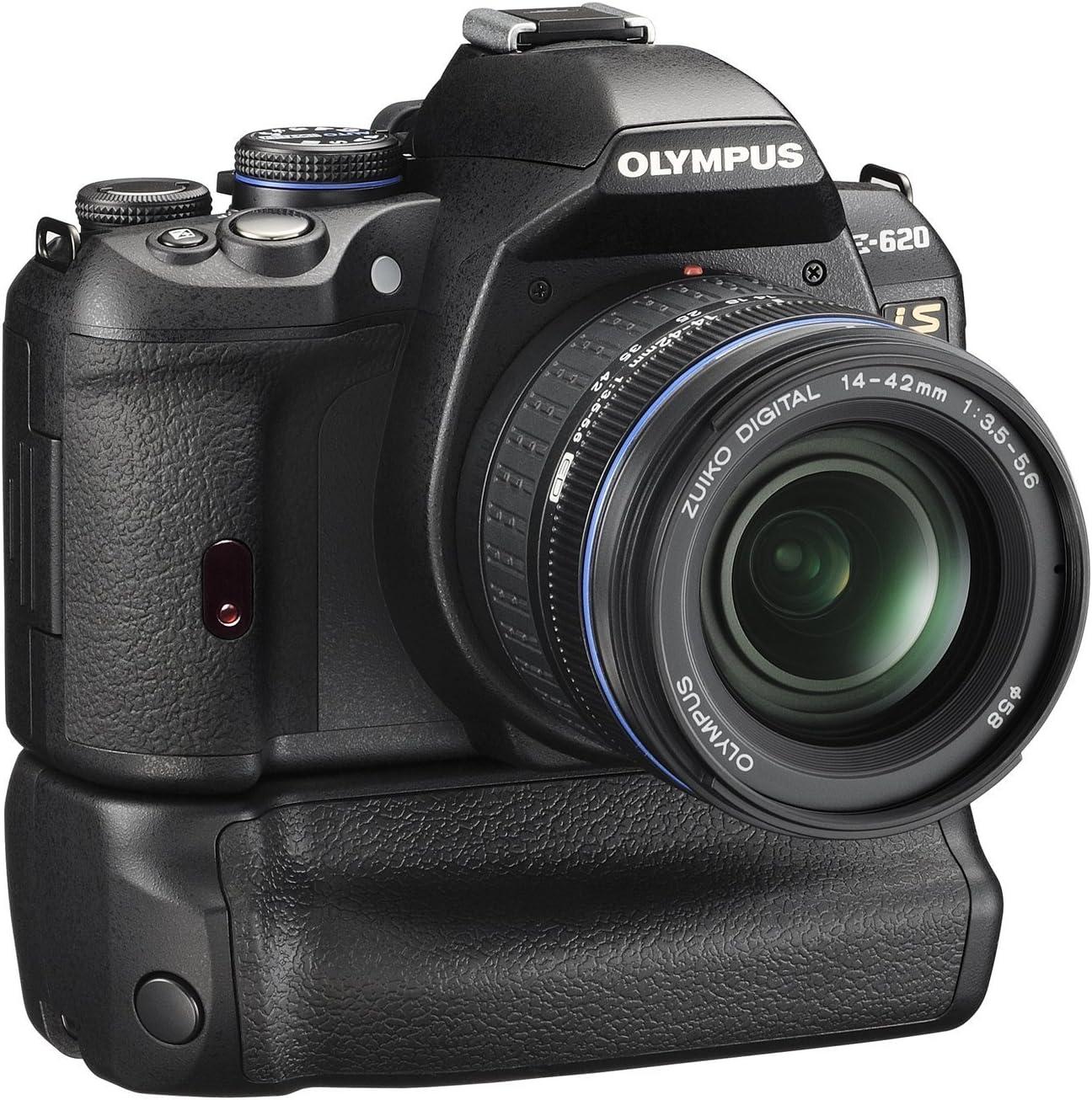 Olympus E-620 - Cámara réflex Digital 12.3 MP (Objetivo HLD-5 y EZ ...