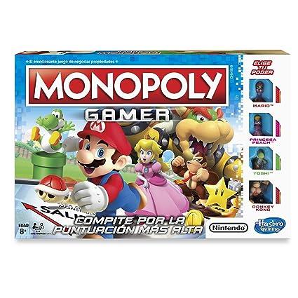 Hasbro Gaming Juego De Mesa Monopoly Gamer Amazon Com Mx Juegos Y