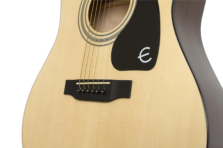 Epiphone FT-100CE - Guitarra electro acústica, color claro (Amazon Exclusivo): Amazon.es: Instrumentos musicales