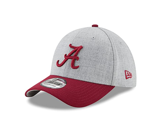 the best attitude f9445 0a5b9 New Era NCAA Alabama Crimson Tide Adult Change Up Redux 39THIRTY Stretch  Fit Cap, Small