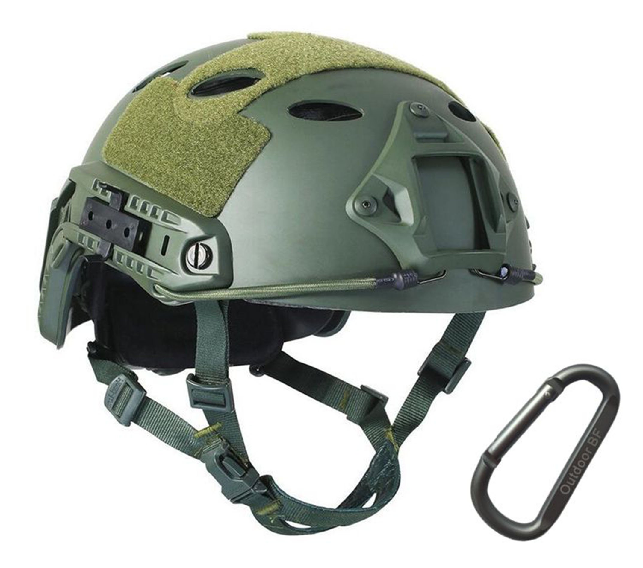 Tactical Fast Adjustable Helmet PJ Type (OD Green) by Outdoor BF