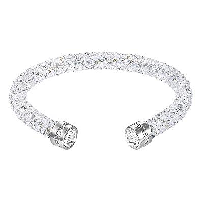 Amazon.com  Swarovski White Crystaldust Cuff  Swarovski  Jewelry c37c07ffb4b9