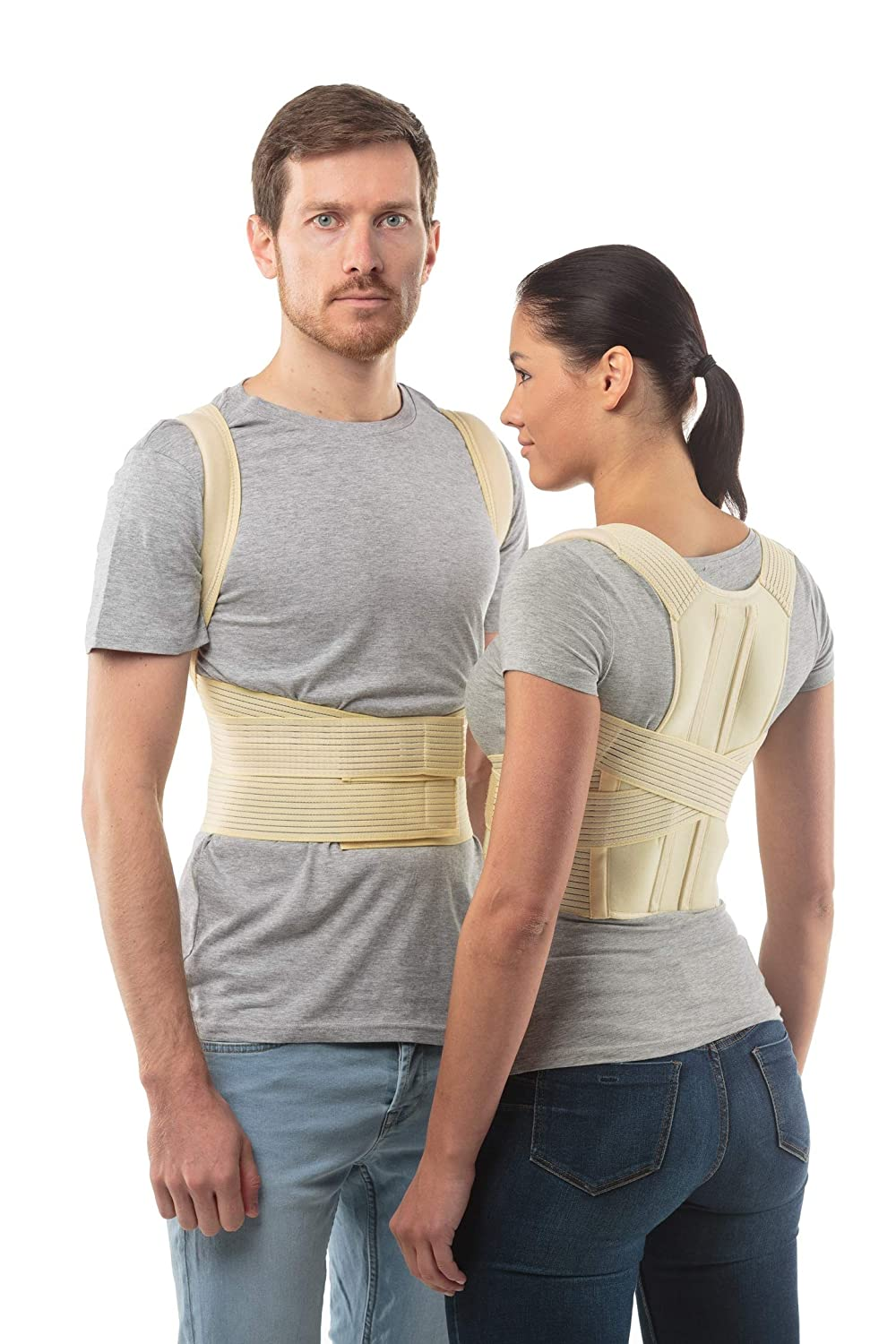 Posture Corrector Back Support Belt By Aheal Medical Orthopedic Under Clothes Back Brace Spine Corrector For Men And Women Lower Pectoral And The