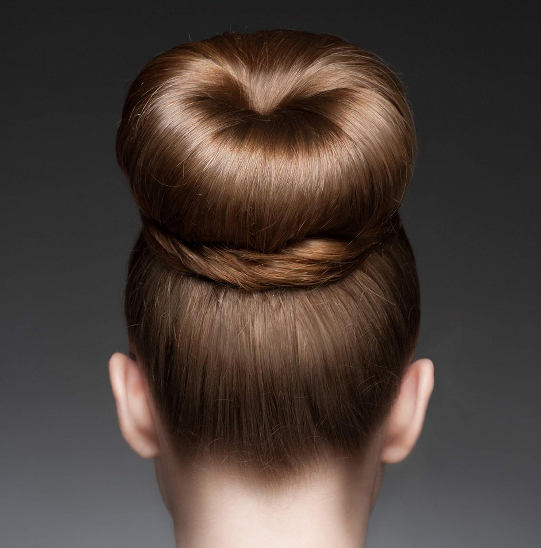 Amazon.com: Styla Hair Magic Bun Maker (2 Small, 2 Large) Foam Sponge Bun Shaper Hair Accessories (Blonde): Beauty