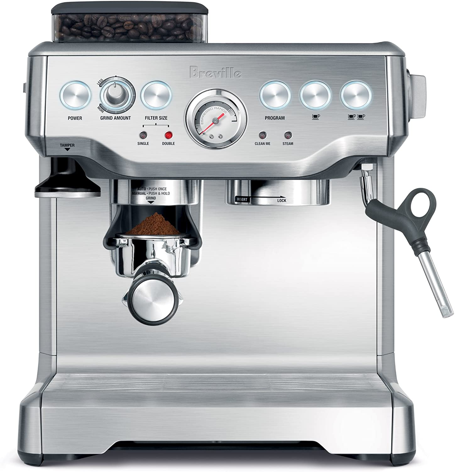 Breville Barista Express - Best bean to cup coffee machine