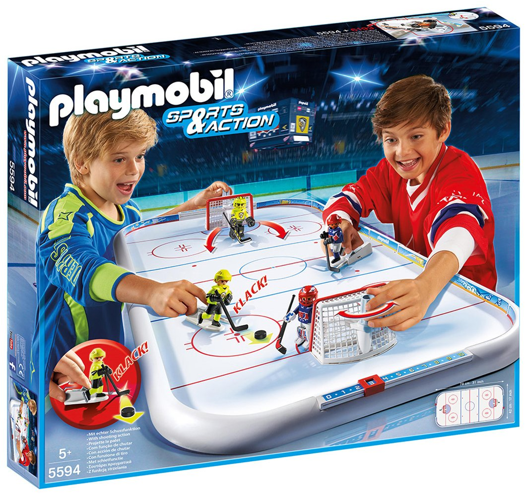 Playmobil 5594 Sports & Action Ice Hockey Arena by Playmobil