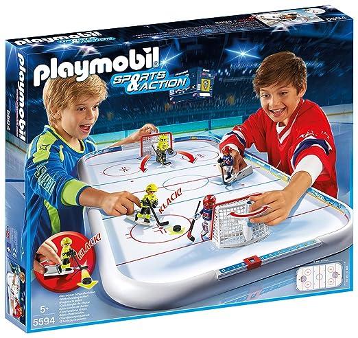 6 opinioni per Playmobil 5594 - Arena Hockey su Ghiaccio, Multicolore