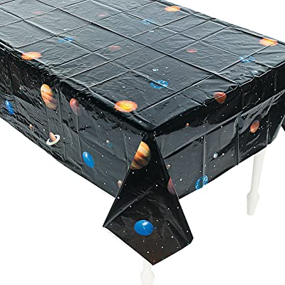 Outer Space TABLECOVER - Party Supplies - 1 Piece: Toys & Games