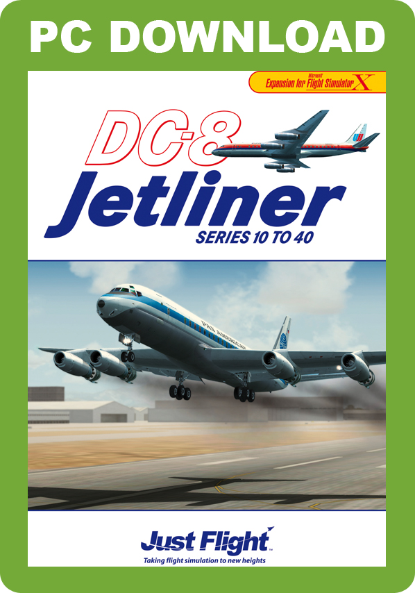 DC-8 Jetliner Series 10 to 40 [Download]