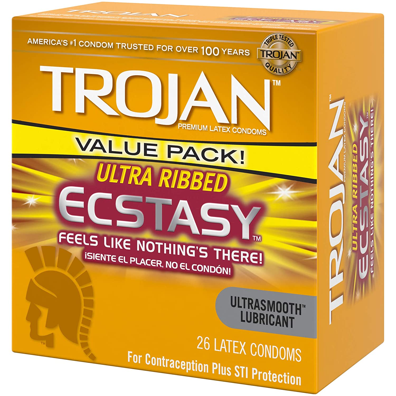 Trojan ecstasy condom