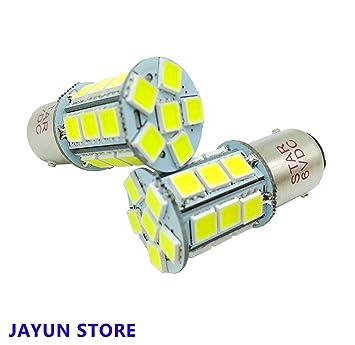 JAYUN 2 × BA15D 6V 1142 1076 1158 1178 Bombillas LED para automóviles, Súper Brillante