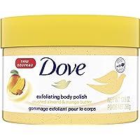 Dove Body Polish renews skin Crushed Almond & Mango Butter sulfate free 298 g