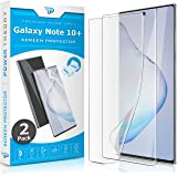 Power Theory Screen Protector Film for Samsung Galaxy Note 10 PLUS [2-pack] - [Not Glass] Full Cover, Case Friendly, Flexible