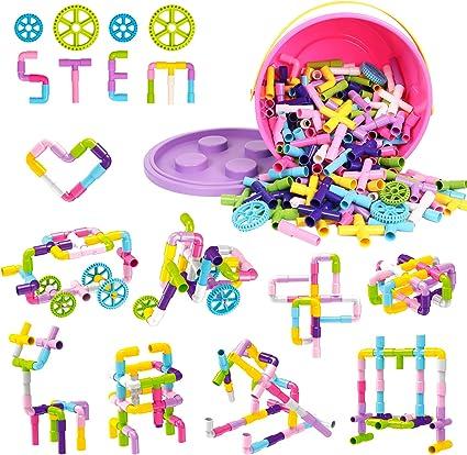 Construire et jouer 350pc Set Snap /& Shape-Boredom Buster ENGINEERING SCIENCE Maths