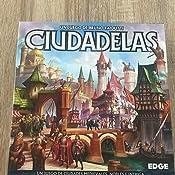 Edge Entertainment - Ciudadelas, Juego de mesa (EEWRCI01): Amazon.es: Juguetes y juegos