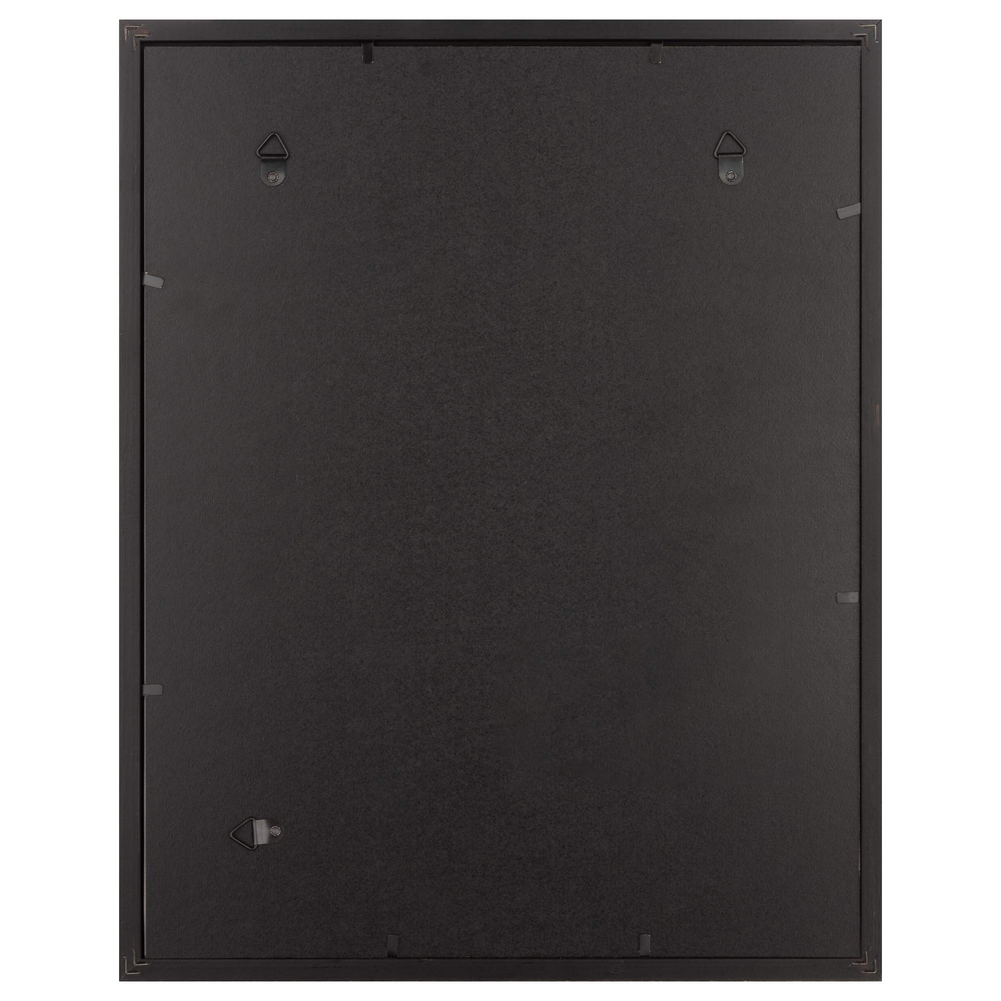 Snap 16x20 Black Wall Picture Frame with Single White Mat for 11x14 Picture by Snap (Image #4)