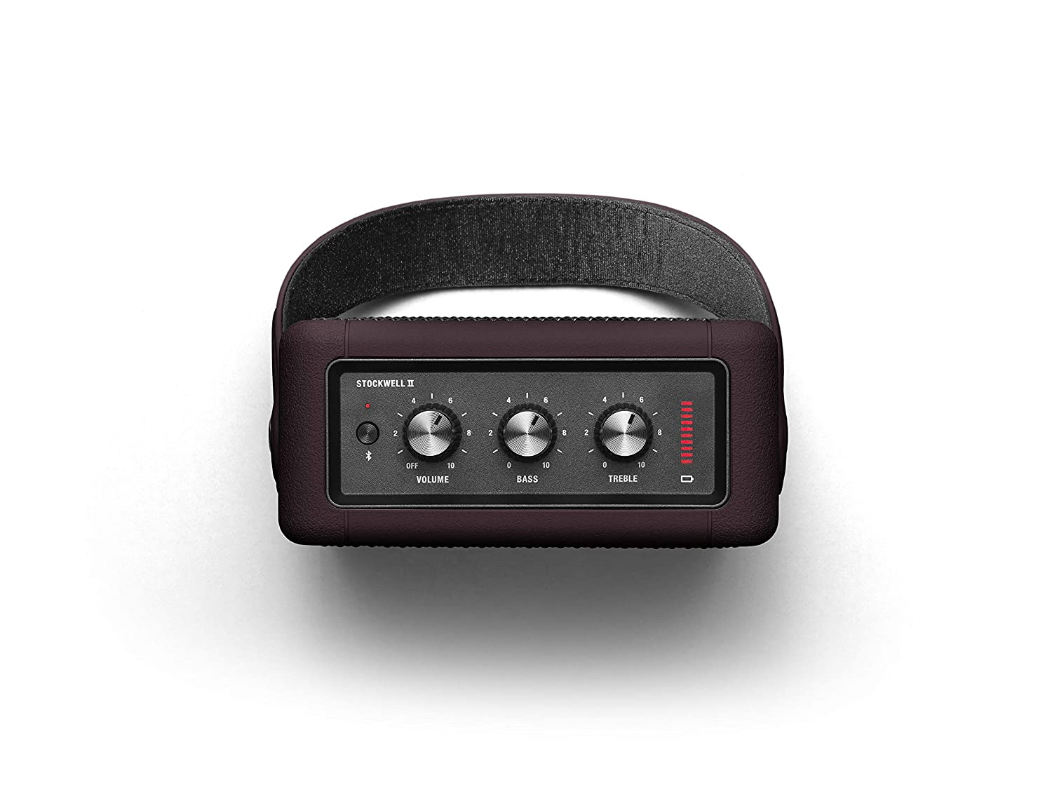Open-Box & Unused Marshall Stockwell II Portable Speaker (Burgundy) kida.in