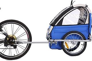 Fiximaster Fahrradanhänger für baby BT505 Blau