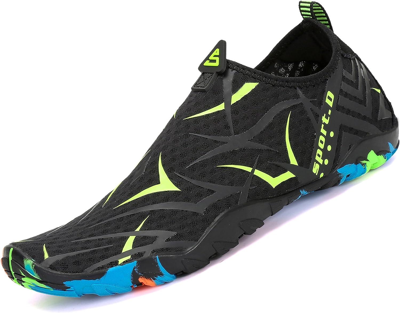 katliu Chaussures Aquatiques Chaussures deau de Plage Water Shoes pour Piscine Surfer Yoga Homme Femme