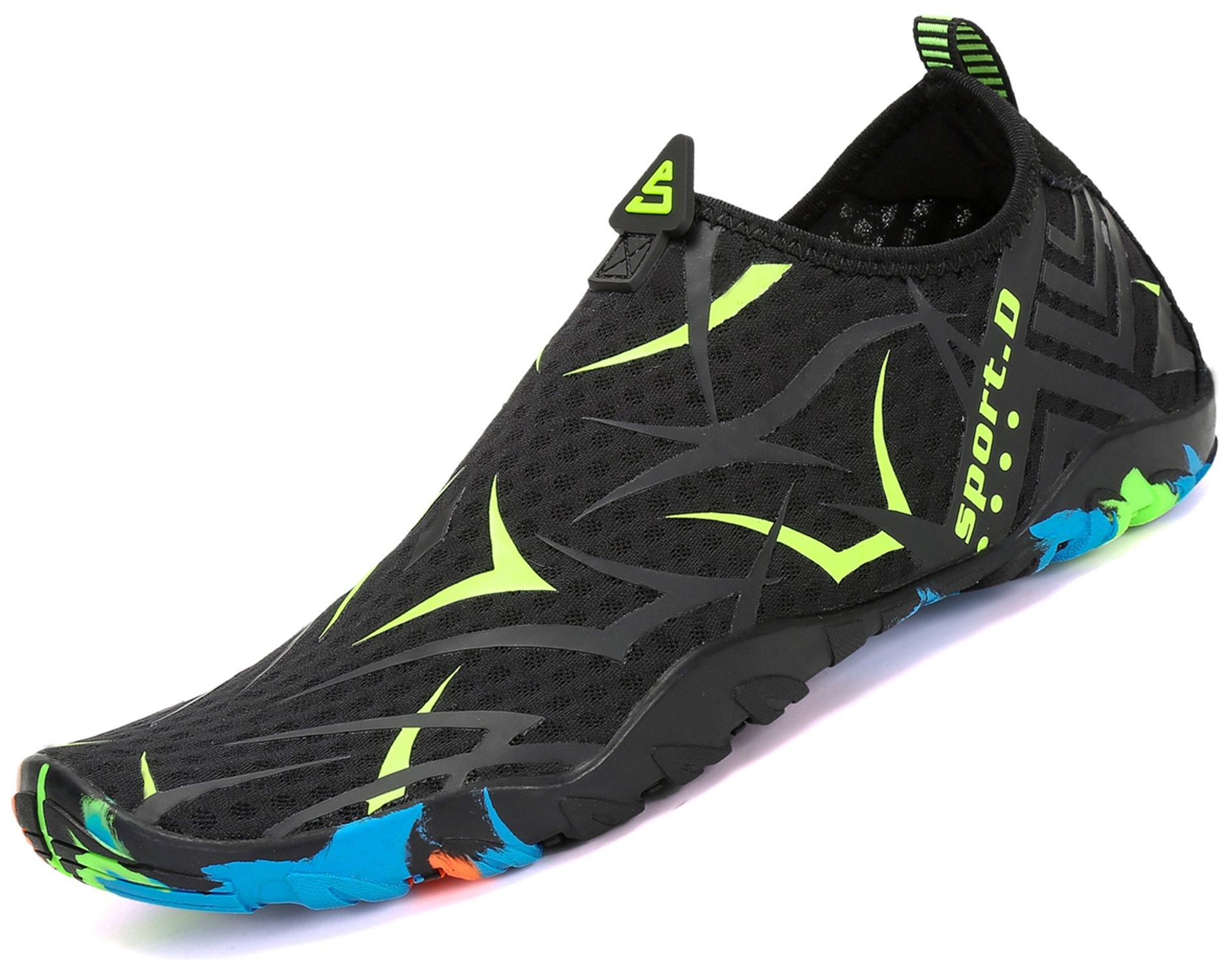 katliu Uomo Donna Scarpe da Scoglio Scarpette da Mare Bagno Spiaggia Surf  Yoga Water Shoes product 5b437e8548d
