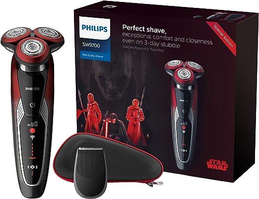 Philips Star Wars Episodio VIII SW9700/67 - Afeitadora eléctrica serie 9000, edición limitada Lado Oscuro: Amazon.es: Salud y cuidado personal