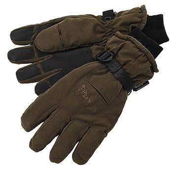 Pinewood Hunting - Guantes de caza para hombre, color marrón, talla ...