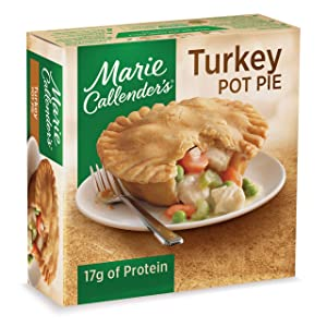 Marie Callender's Frozen Pot Pie Dinner, Turkey, 10 Ounce