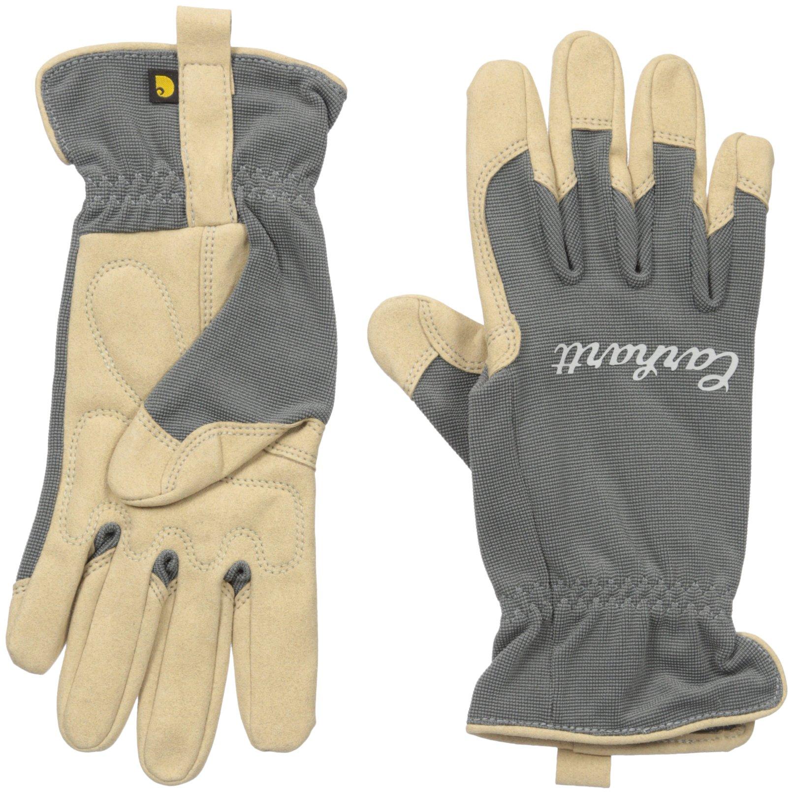 Carhartt Women's Perennial High Dexterity Glove, Grey, Medium