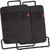 Lusso Gear Heavy Duty Kick Mats (2 Pk) - Back Seat Protector, Sag Proof, Waterproof, Car Back Seat Cover for Kids Who…