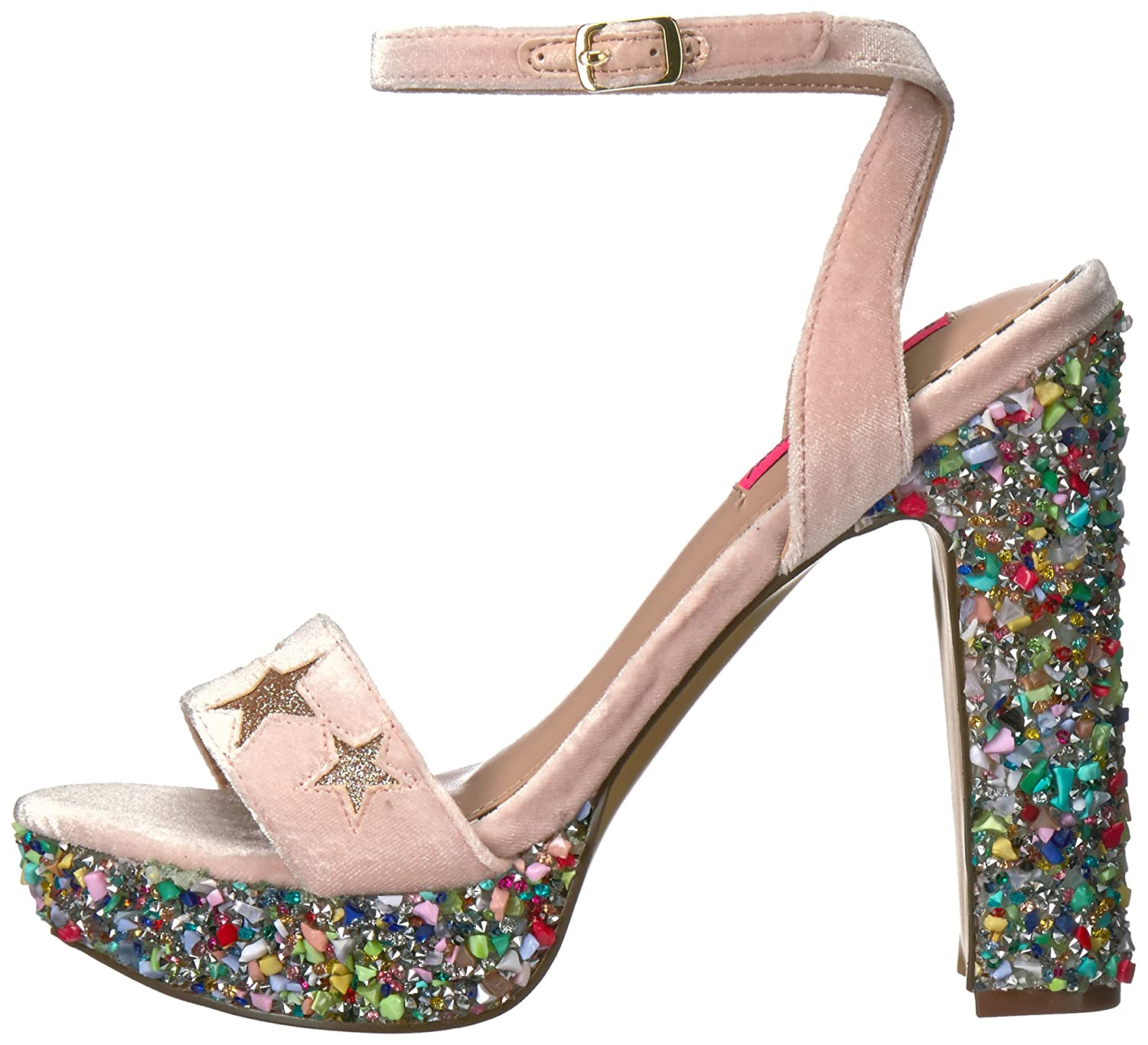 f500509c272 Betsey Johnson Women s Kenna Dress Sandal  Buy Online at Low Prices in  India - Amazon.in