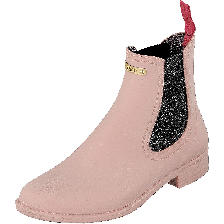 GOSCH schuhe Damen Schuhe Chelsea Gummistiefel Stiefel Stiefelette 7105-310 in 4 Farben