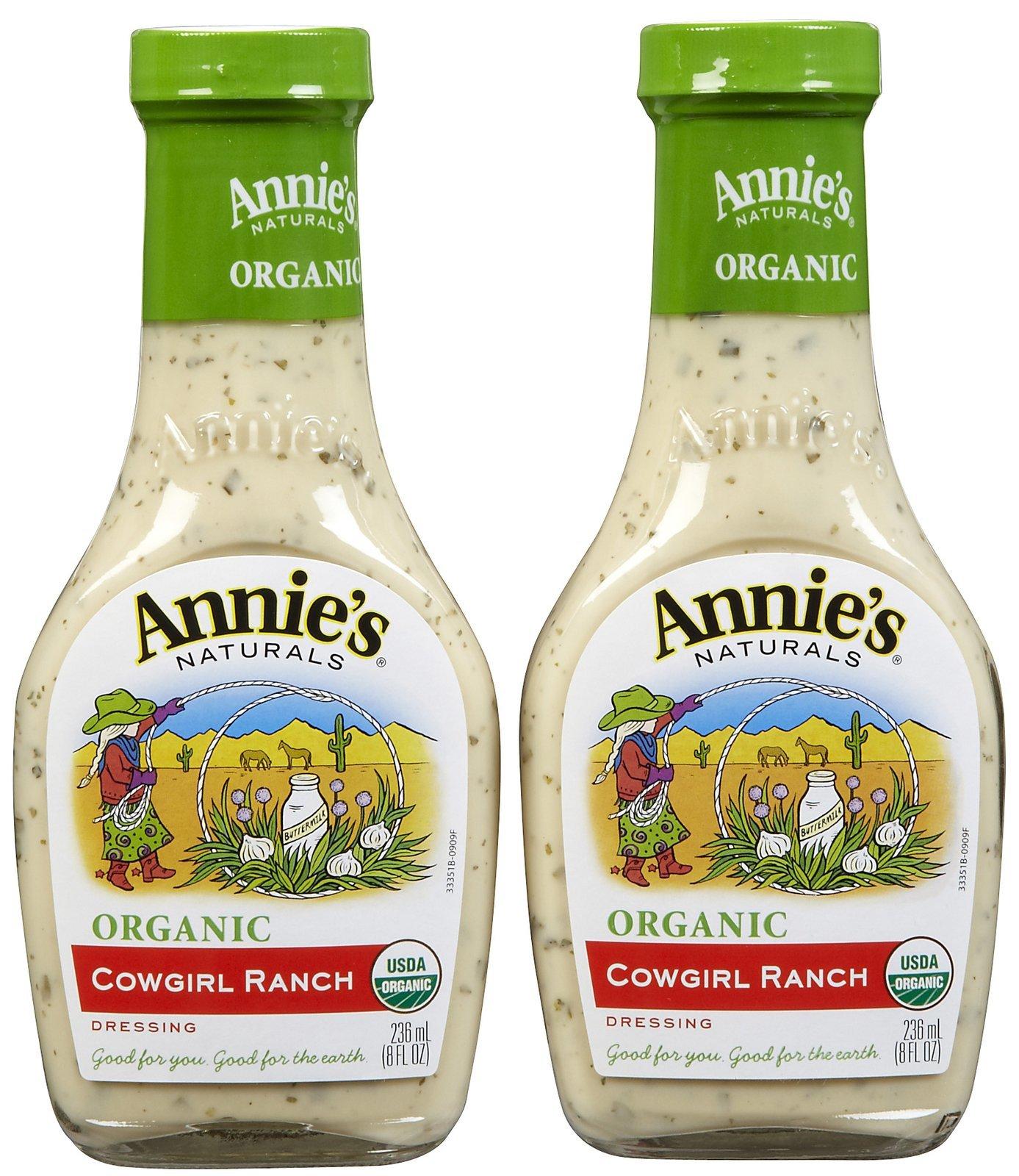 Annie's Naturals Organic Dressing Cowgirl Ranch -- 8 fl oz