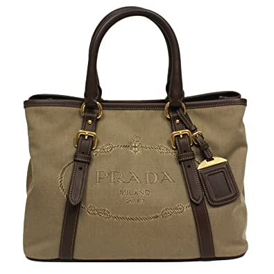 ... shopping prada logo jacquard canvas leather satchel bowling bag with  shoulder strap 1ba832 2d6a4 bbd94 83ea4aaf21066
