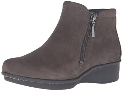 Dansko Women's Lee Boot, Grey Nubuck, ...