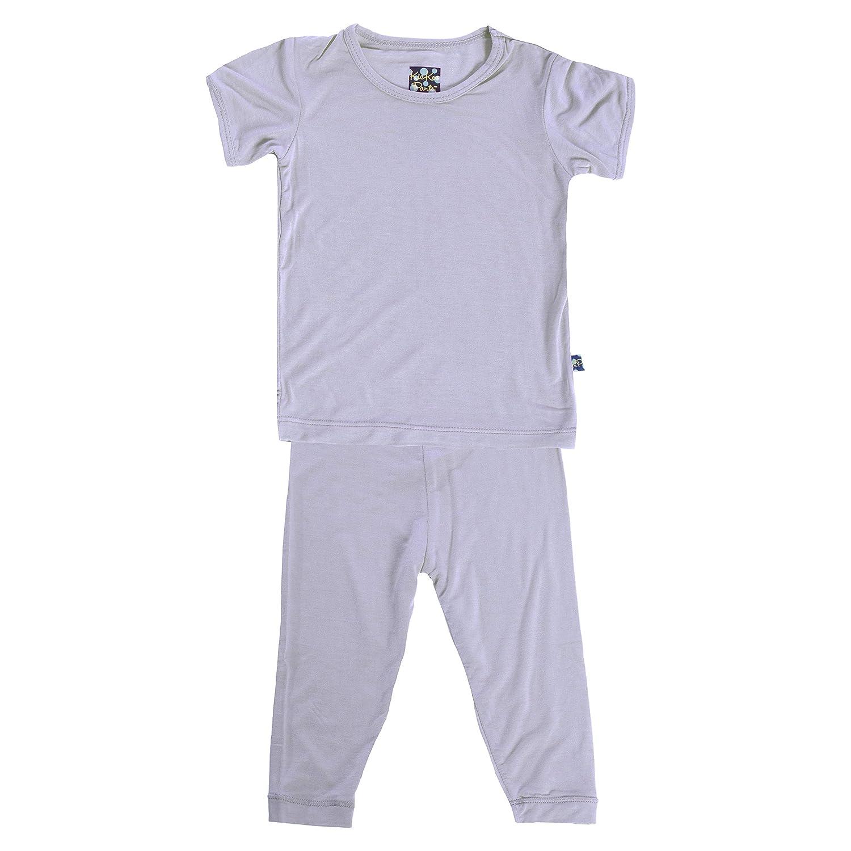378762055 Amazon.com: KicKee Pants Basic Short Sleeve Pajama Set: Clothing