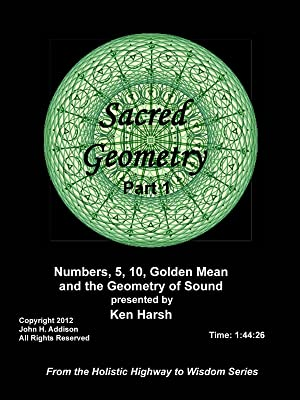 Amazon com: Sacred Geometry Part 1 - Numbers 5, 10, Golden Mean and