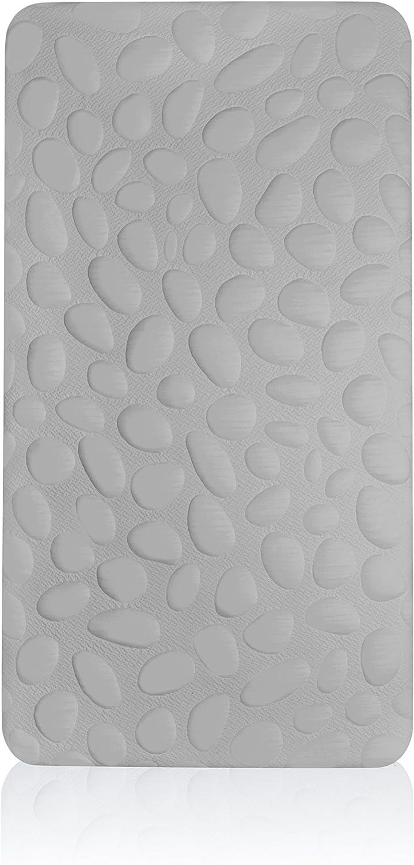 Nook Sleep Pebble Pure Mini Crib Mattress Blush 100/% Organic Construction /& Breathable for Mini Size Cribs