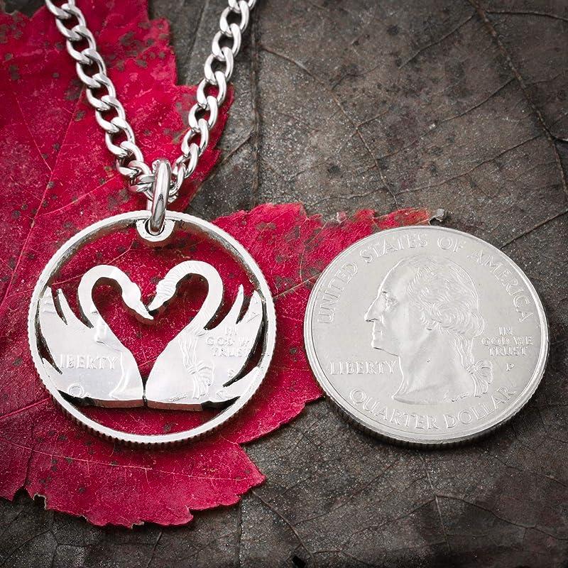 Silber Schwan Herz Fusskettchen heart bird Tibetan silver Swan silver knotted anklet Vogel