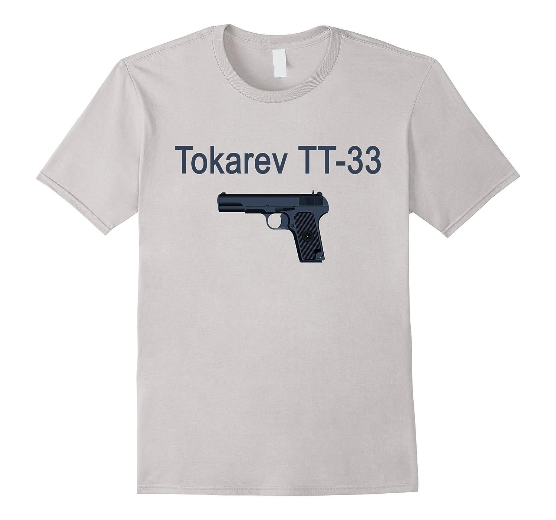 Tokarev TT-33 Russian Soviet Pistol Tshirt-TD
