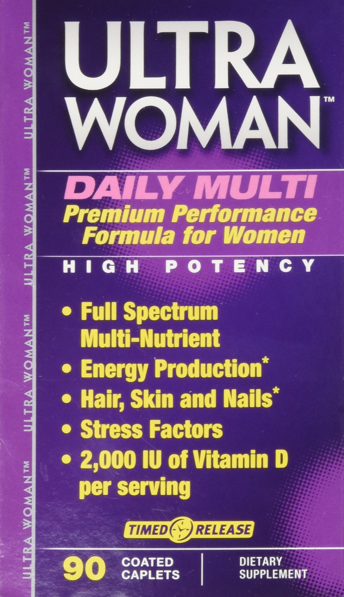 Vitamin World Ultra Woman Daily Womens Multi Vitamin, 90 Caplets