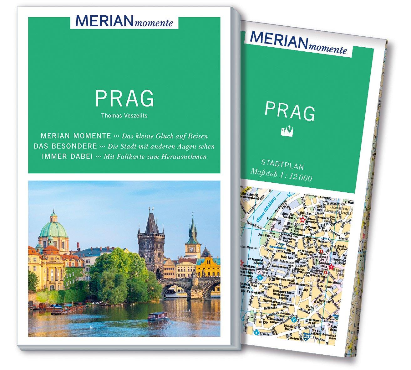 MERIAN momente Reiseführer Prag: Mit Extra-Karte zum Herausnehmen
