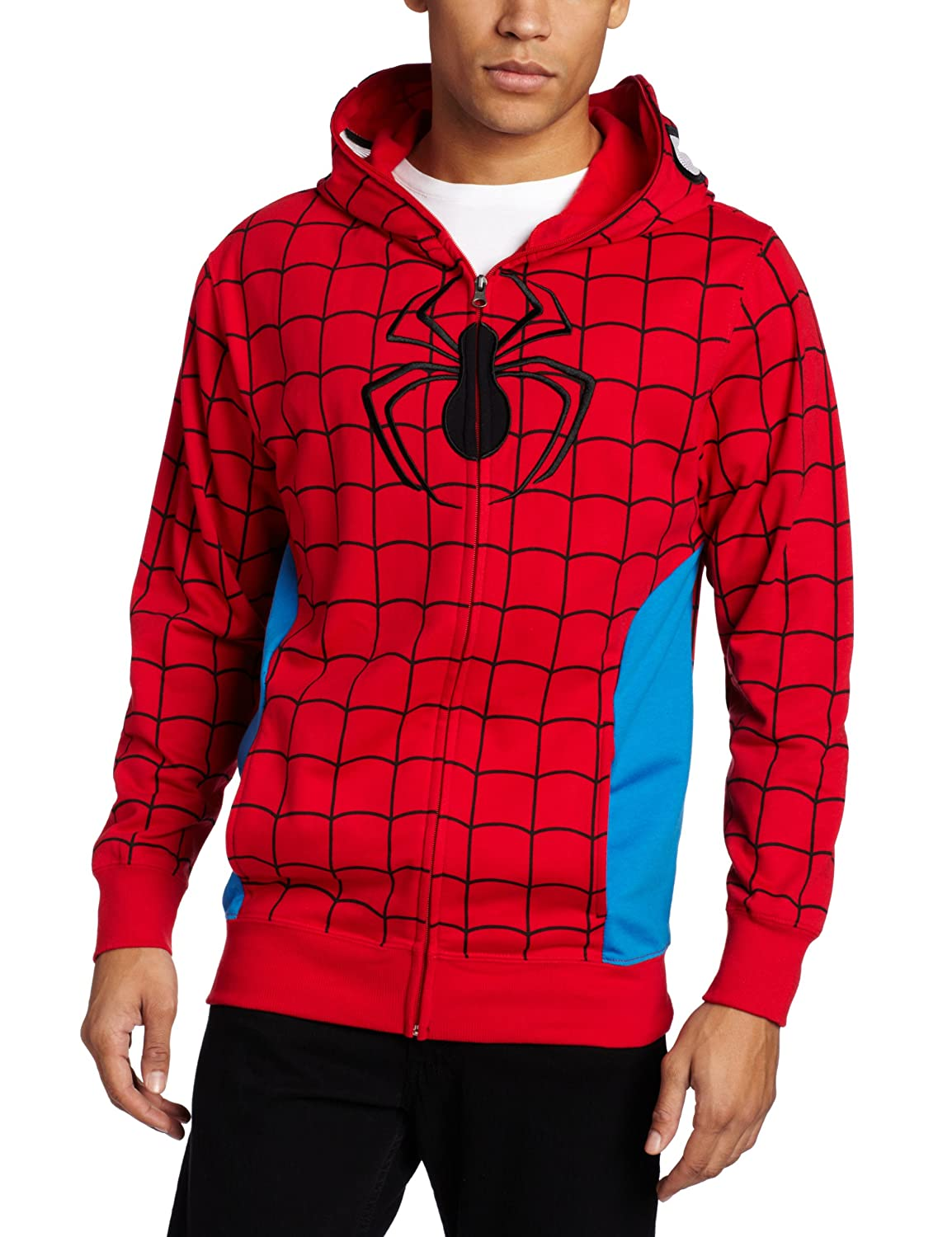 Marvel mens Spiderman Parker Fleece Hoodie Mad Engine Inc. MVFC033MFSFP1XX