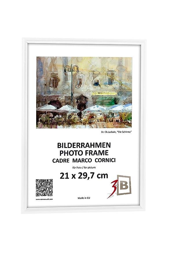 Amazon.de: 3-B Set 2 Stk. - Bilderrahmen FOTO - 21x29, 7 cm (A4 ...