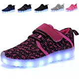 Kids LED Light up Shoes Breathable Kids Girls...
