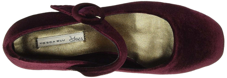 Tosca Blu Damen Ballerinas Violet Geschlossene Ballerinas Damen Violett (C80) 851b88