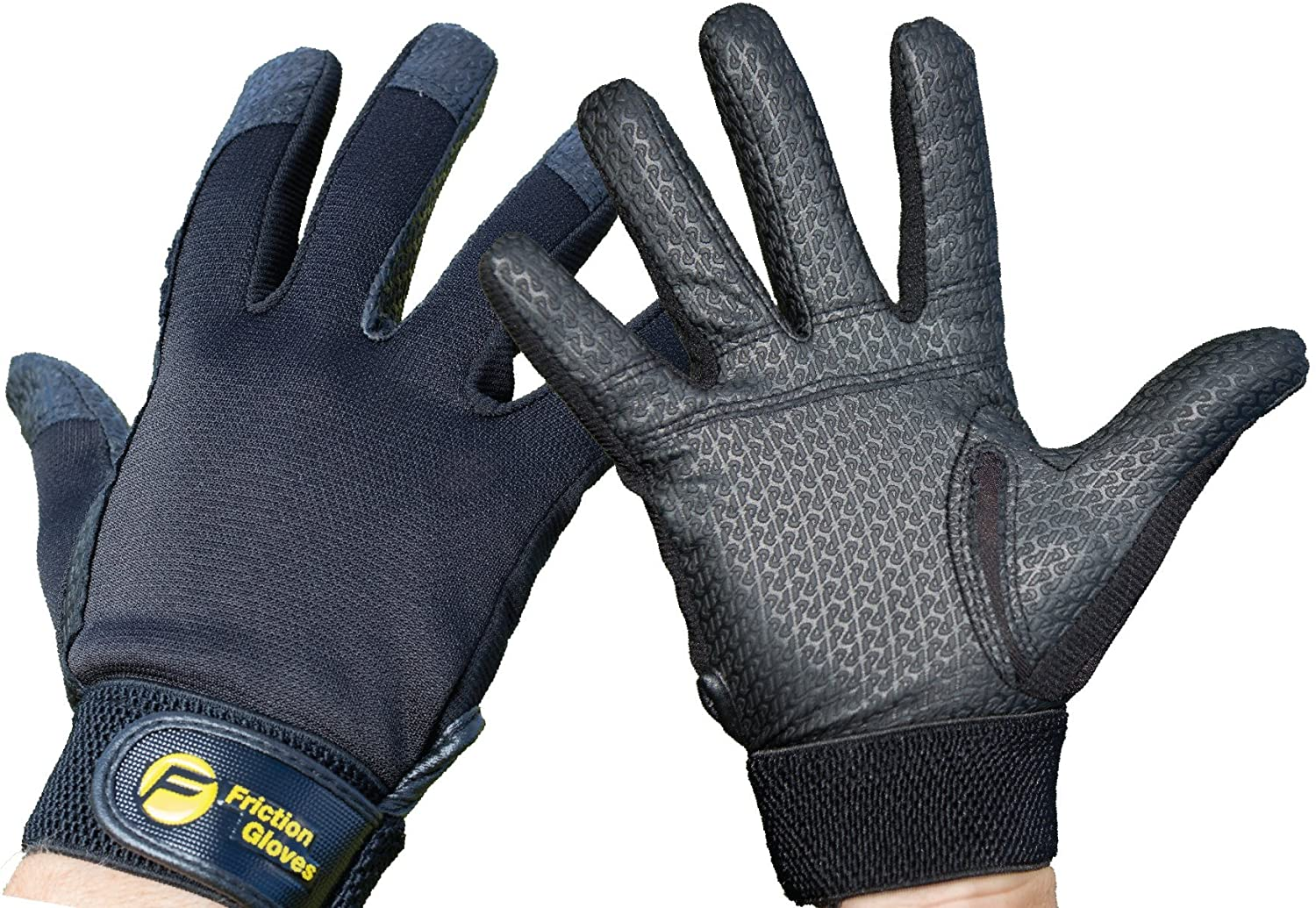 Improve Throws /& Catches #1 Worlds Ultimate Glove Friction Gloves Friction Ultimate Frisbee Gloves